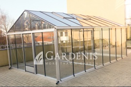 GardenIs greenhouse 380 604 glass