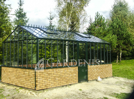 Greenhouse victoria antracite